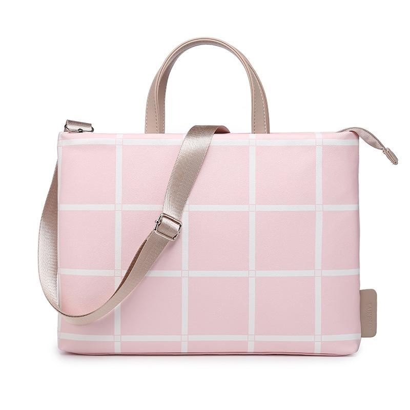 Waterproof PU Leather Laptop bag Women and