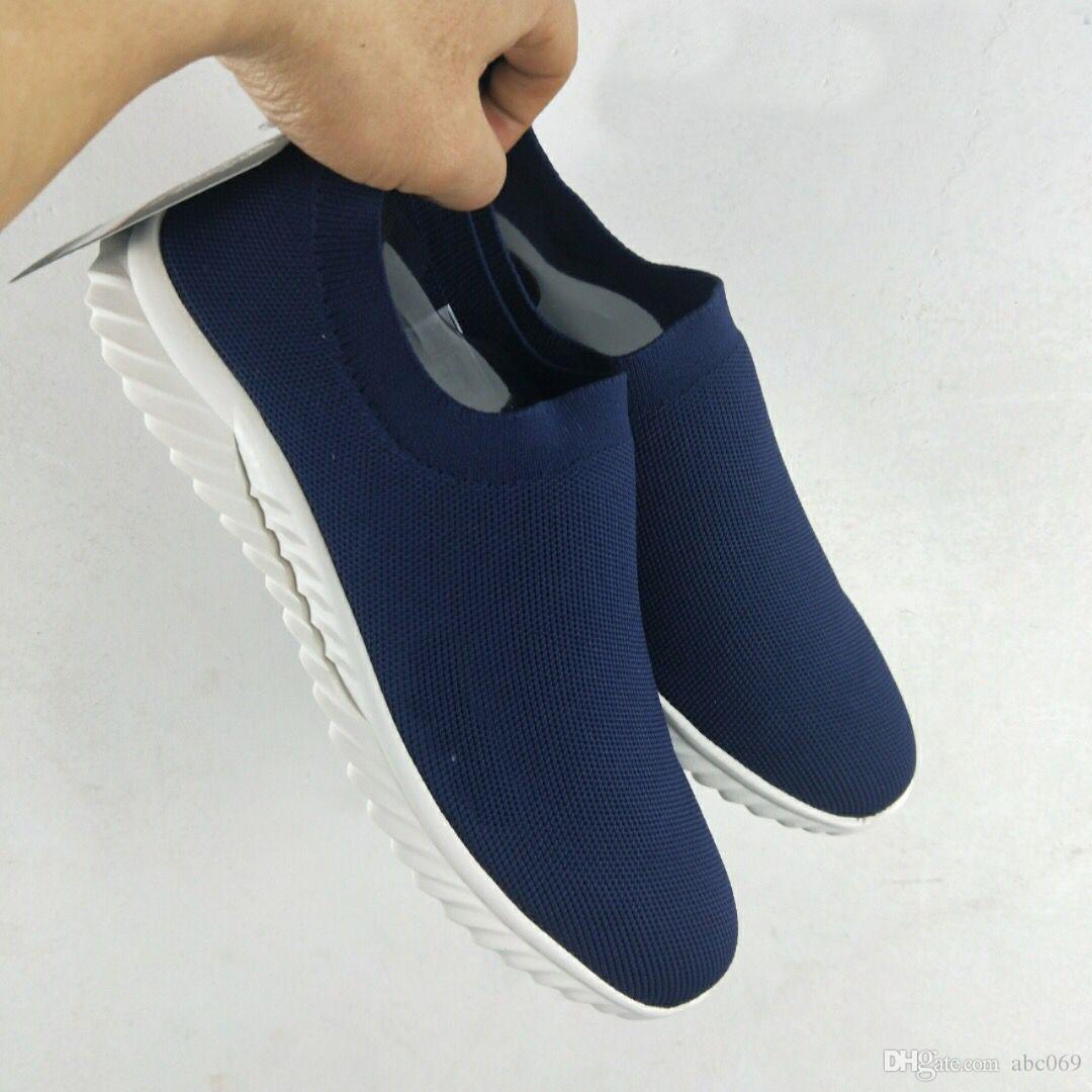 [С коробкой] 2019 новый дизайнер кроссовки скорость тренер черный Ман мода плоский носок сапоги Повседневная обувь скорость тренер Бегун мужчины