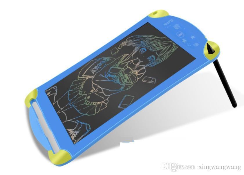 TOP LCD الكتابة اللوحي الرقمية المحمولة 8.5 بوصة رسم وحي الكتابة اليدوية وسادات مجلس اللوحي الإلكترونية للبالغين والأطفال أطفال DHL FREE