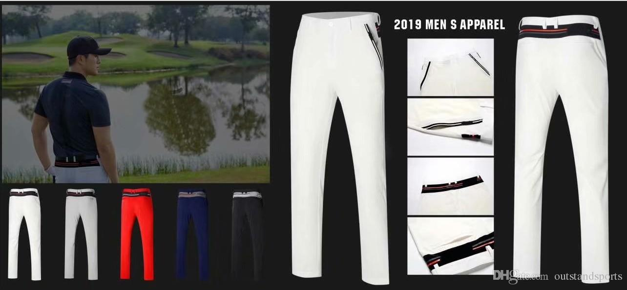2019 OEM Ti golf long pants Spring/Summer quick dry cultivate figure cooling touch sports trousers 5 colors available