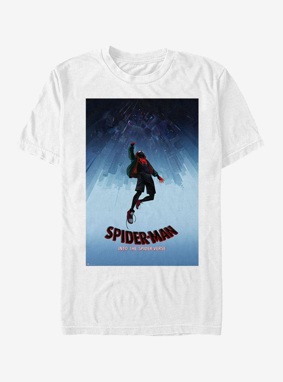 f4806f8853e Marvel Spider Man The SpiderVerse Miles Morales T Shirt Size US Small Pre  OrderFunny Unisex Casual Tshirt Top Cool Funny T Shirts On T Shirt From ...