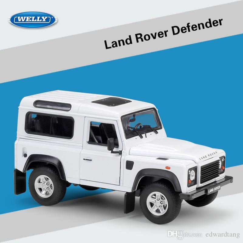 DefenderRange Kid Rover Cadeaux Les Party Anniversaire En Jouets De EvoquePour Modèle Voiture D Alliage WellySuv Land Rétro WEIDH9Y2