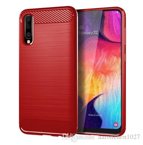 For Samsung Galaxy A50 A2 Core Case Silicone Rugged Armor Soft Cover