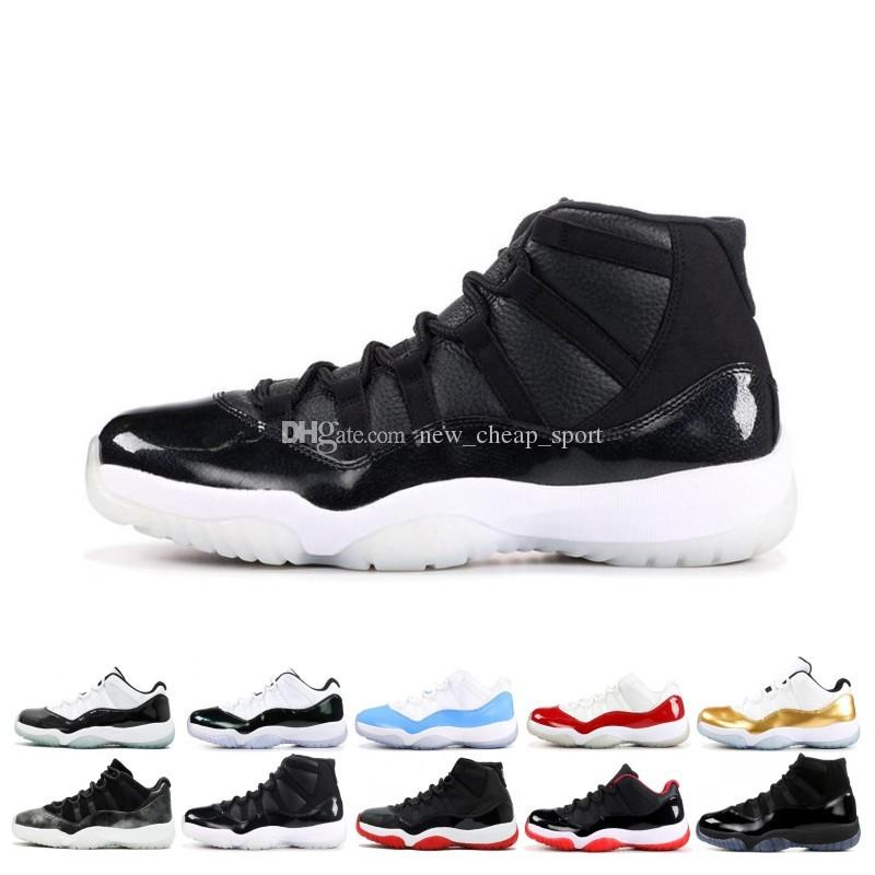 0e19ccc6d62f Cheap New 11 Space Jams Bred Number 45 Best New Concord Basketball Shoes  Men Women Shoes 11s Gym Red Navy Gamma Blue 72 10 Sneakers Designer Canada  2019 ...