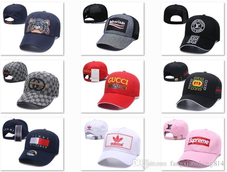 63629547289df 2019 Summer Hat Embroidered Streetwear Best Quality Baseball Hats Box Logo  Snapback Ua Headbands Baseball Caps For Men Gorras DF6G14 Cap Shop Flexfit  Caps ...