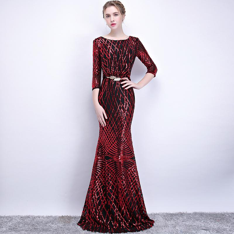 2019 Cross Border Bride Wedding Fish Tail Salute Dress For 2018