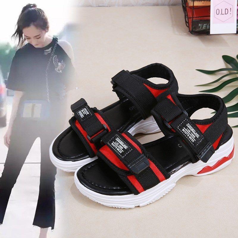 Lucky2019 Sneakers donna Flangia impermeabile antiscivolo Scarpa singola da donna Trucchi magici Cerca il bordo Superare i sandali leggeri
