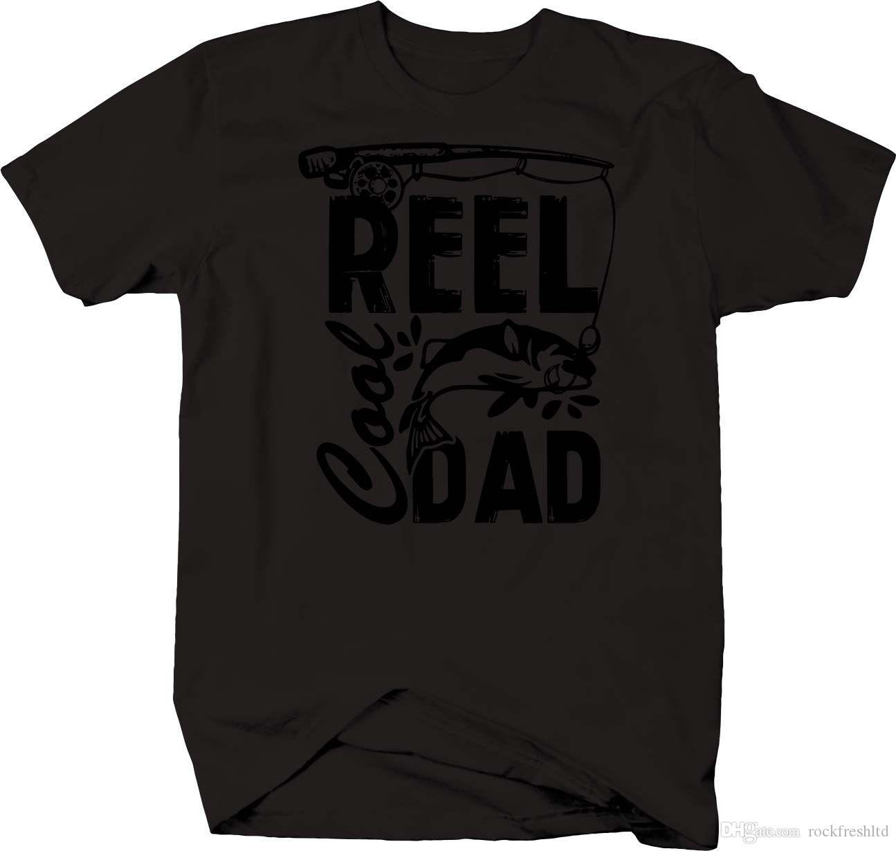b4c9b85b Reel Cool Dad Fishing Fish Pole T Shirt Band T Shirts T Shirt Designs From  Rockfreshltd, $10.18  DHgate.Com