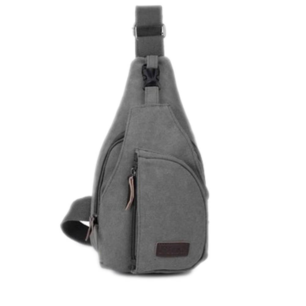 2019 New Fashion Mens School Bag Men Canvas Messenger Bags Casual Travel Bag  Black Gray Shoulder Khaki Back Pack Leather Backpack Laptop Backpack From  ... b083a6f112e4f