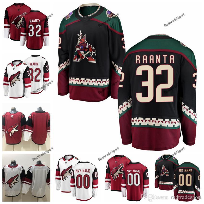 2b427c493 2019 Customize Antti Raanta Arizona Coyotes Hockey Jerseys Custom ...