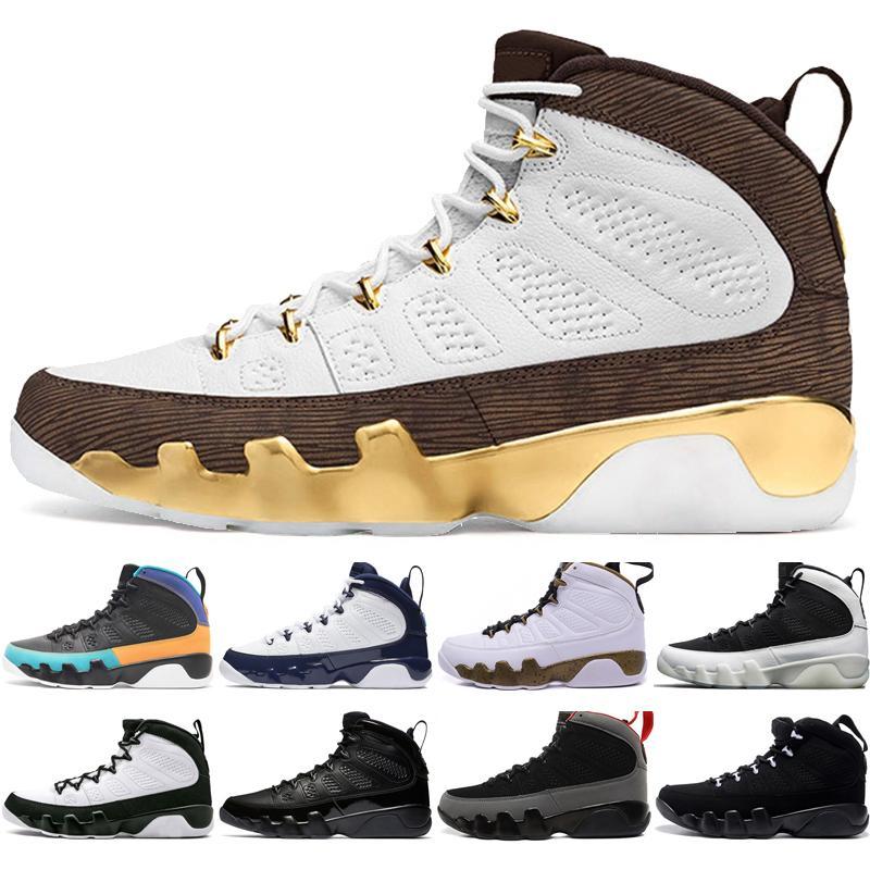 new style cc46a 2b0a0 Hot New 9 9s Dream It Do It UNC Mop Melo Mens Basketball Shoes LA OG Space  Jam men Bred 2010 Release Black sports sneakers designer trainers