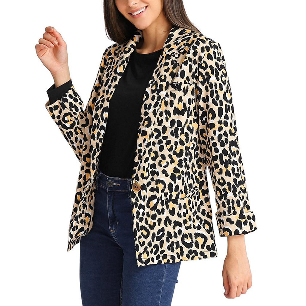 3999bfab9344 Women Long Sleeve Sexy Leopard Print With Pocket Coat Winter Jacket Women  Windbreaker Outerwear Dropshipping Rain Jacket Biker Jacket From  Waistband18, ...
