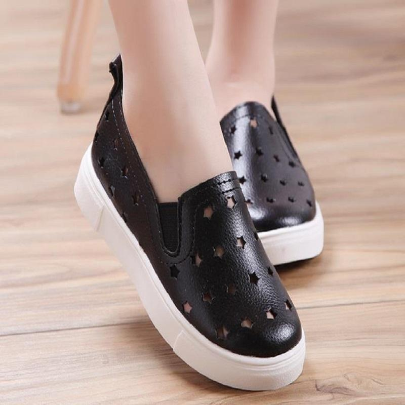2019 NEW big boys girls Casual Shoes PU For Breathable shoes Youth mens womens shoes Big Size 36-45 N9023