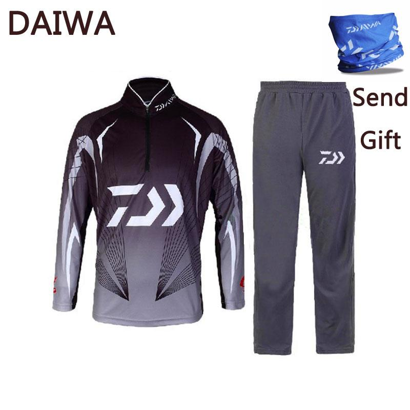 b337465f 2019 Newest Dawa Brand Daiwa Fishing Clothing For Men Summer Style Breathable  Sun UV Protection Outdoor Sportswear Suit Fishing Shirt From Pekoe, ...