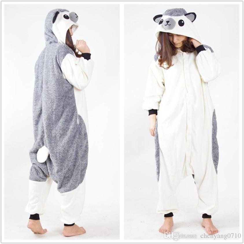 9f0164d1a Erizo disfraz de animal de dibujos animados Polar Fleece Kigurumi para la  fiesta de Año Nuevo de Carnaval de Halloween Envío de la gota acogido con  ...