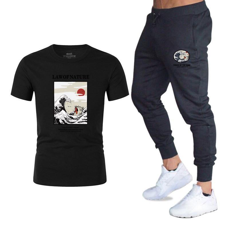 Fitnesshose, Logo Prints, Baumwolle, für Damen