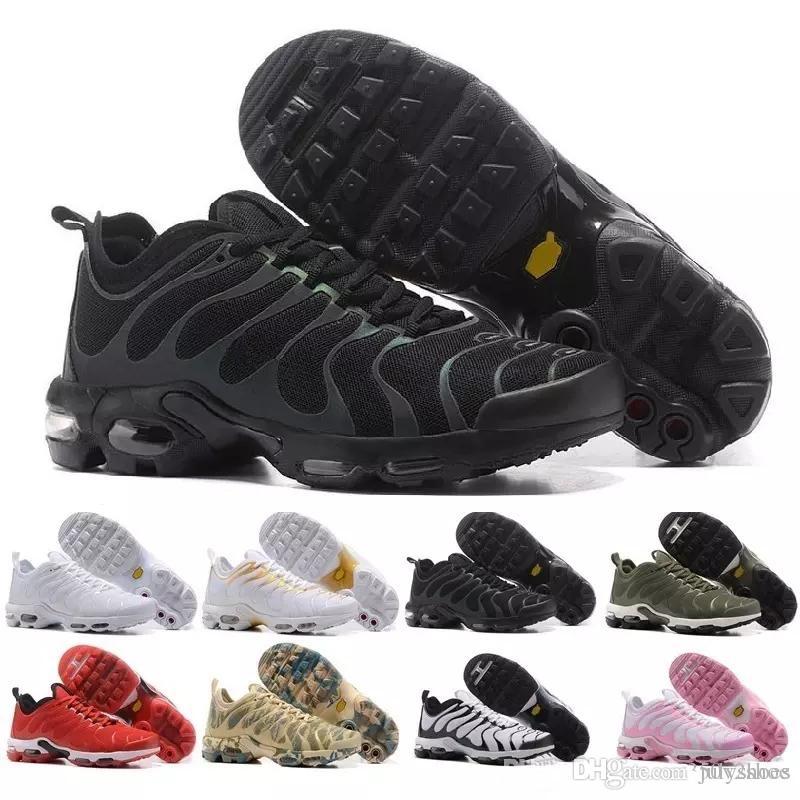 nike TN plus air max airmax 2018 Nouveau Design Top Qualité TN Hommes Shoes Respirant Mesh Chaussures Homme Tn REqUin Noir Casual Chaussures De Course