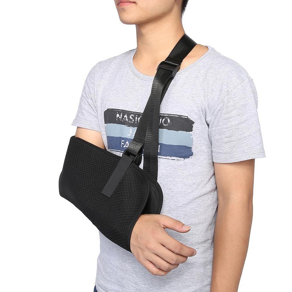 a0c4638bec Arm Brace Support Breathable Armrest Shoulder Belt For Adult Children  Medical Elbow Support Wrist Fracture Dislocation Waist Belt For Back Pain Back  Belt ...