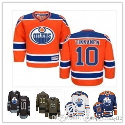 pretty nice 39f8f 281c9 2018 can Edmonton Oilers Jerseys #10 Esa Tikkanen Jerseys  men#WOMEN#YOUTH#Men's Baseball Jersey Majestic Stitched Professional  sportswe