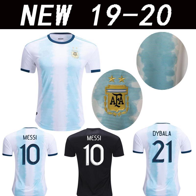 b9f81ed8d Copa América 2019 Argentina MESSI DYBALA De Avellaneda Camiseta 2020 Bou  Fernández Centurión Camisetas De Fútbol Top Cali 19 20 Camisetas Por ...