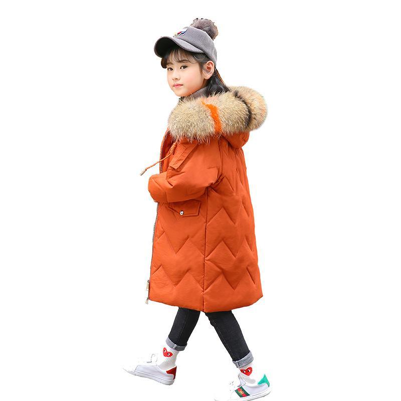 73de0ae10 Teenage Girls Winter Coats 2018 New Children Winter Jacket Kids Warm ...