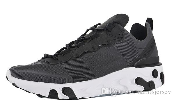 finest selection 1e717 89438 Mens React Element 55 di alta qualità Scarpe da corsa per scarpe da jogging  maschile Scarpe da ginnastica da uomo Sneaker da donna Scarpe da ...