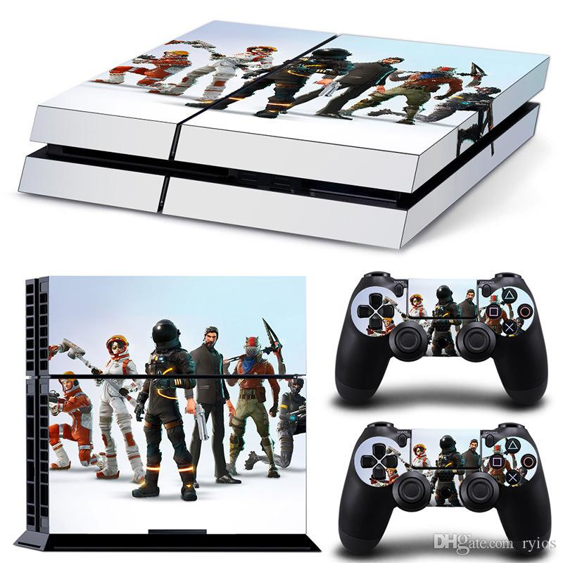 Playstation 4 para el juego Fortnite Stream Overlay Cover PS4 Plus Consola protectora Controlador del sistema Good Kids Friends Gift