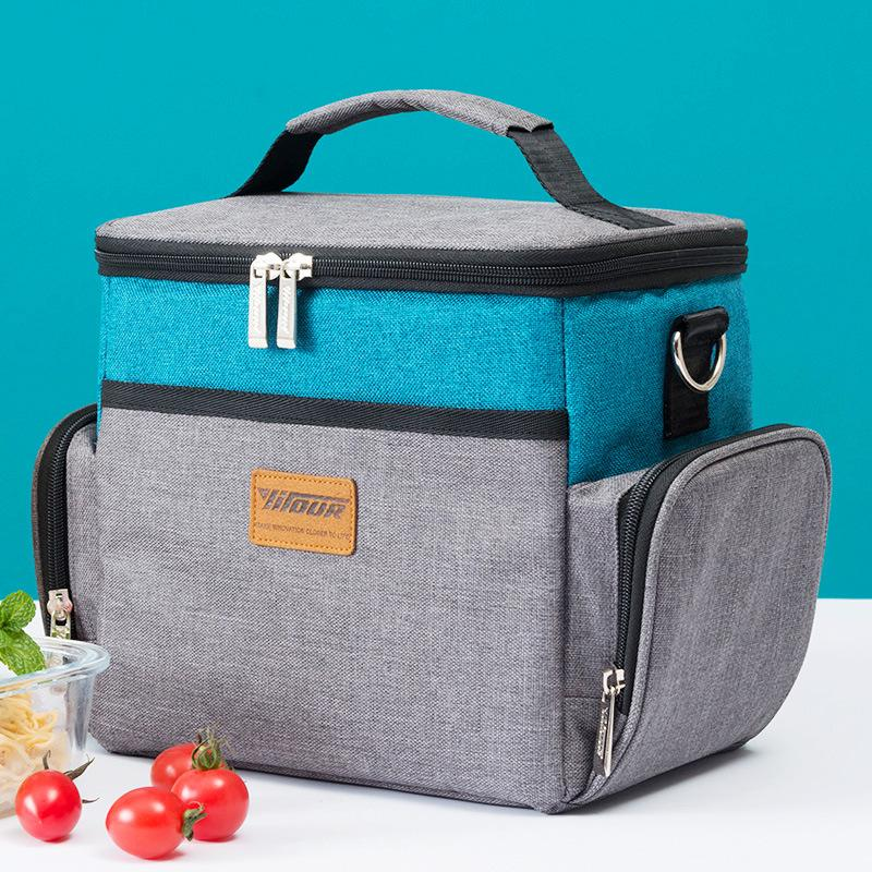 High Quality Waterproof Lunch Cooler Bag Refrigerator Tote Cooler Bag For Steak Insulation Thermal Fresh Keeping Ice Pack
