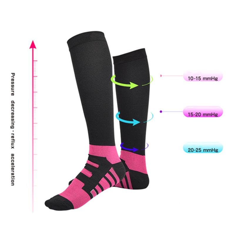 34587bd058 2019 Men Women Graduated Compression Socks Knee High Stockings Athletic Fit  For Travel Flight Running Nurses Shin Splints From Wavewind, $20.24 |  DHgate.Com