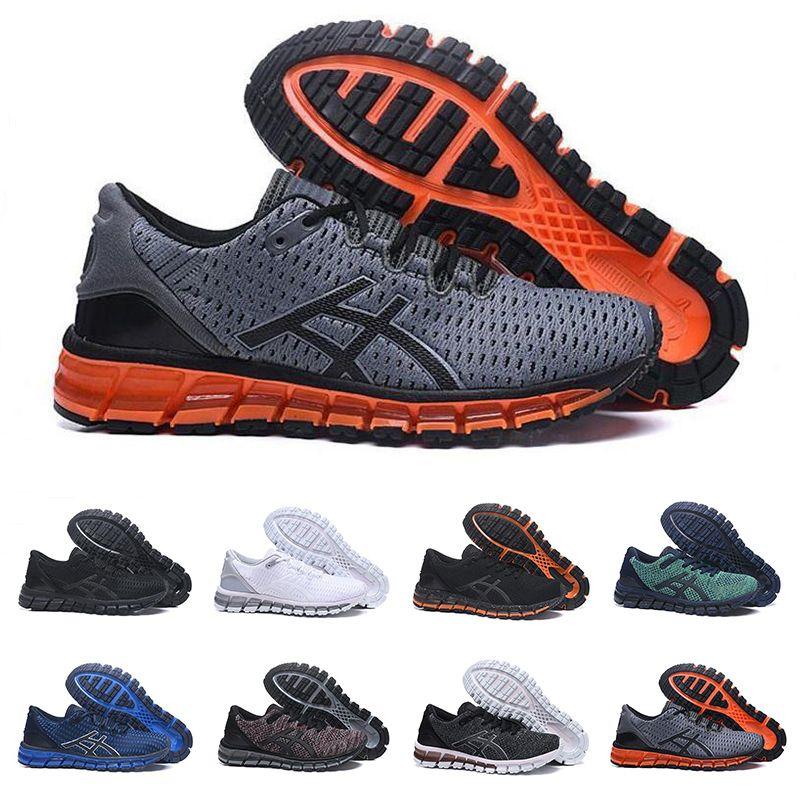 online store f5c5c 22f3c 2019 Gel-Quantum 360 T728N Cushion SHIFT Stability Mens Running Shoes  Triple White Black Gray Orange Designer Men Sneakers Trainers 41-45