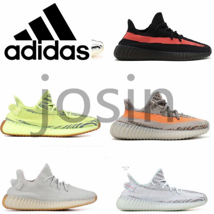 0edd9b8be68 2019 Original Best Quality Adidas Kanye West Yeezy Sply 350 V2 Running  Shoes BELUGA 2.0 Static Butter Bred ZEBRA Yezzy Yeezys Yezzys Sports  Sneakers Cream ...