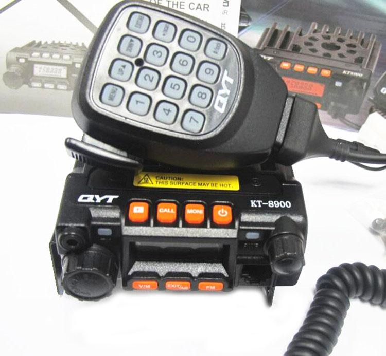 qyt KT-8900 MINI-9800 25W Long Distance MINI Vehicle mounted TWO WAY RADIOS