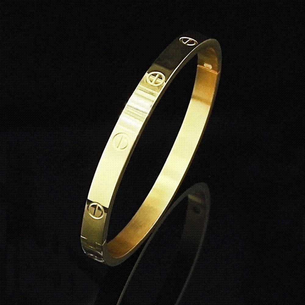 2f81c54c52f72 Romantic Design Cuff Bracelets & Bangles for Lovers Fashion Brand Carter  Love Bracelet pulseira feminina Luxury Valentine's Gift