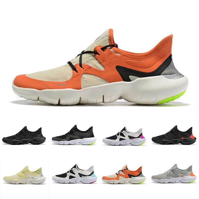 Free Male Rn 5.0 Mens Designer Running Shoes 2019 New Ladies Breathable Lightweight Fashion Outdoor Casual Shoes High Quaity Chassures