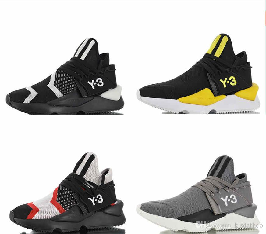 748483147 2019New High Quality Y3 Kaiwa Chunky Running Shoes Hot Sale Y3 Kaiwa Chunky  Sports Sneakers Training Shoes 38 45 Indoor Soccer Shoes Oxford Shoes From  ...
