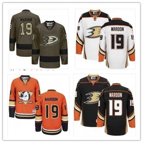 new concept 8e269 0971f 2019 Anaheim Ducks Jerseys #19 Patrick Maroon Jerseys men#WOMEN#YOUTH#Men s  Baseball Jersey Majestic Stitched Professional sportswear..
