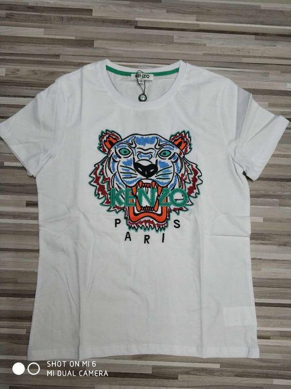 9a4d3472a1 Designer uomini di kenzo t shirt Ricamo della lettera della testa della  tigre superiore men Maglietta t shirt uomo manica corta di marca manica  corta ...