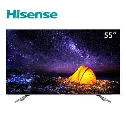 (Hisense) HZ55E8A 55 inch 4K ULED super picture quality PAL NTSC quantum  dot ultra-thin full screen AI artificial intelligence smart TV HDMI