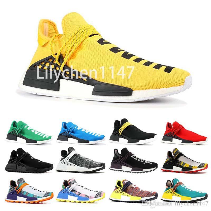 6c6cb8c7e286c Human Race 3 Mens Designer Running Shoes 2019 Men Casual Pharrell ...