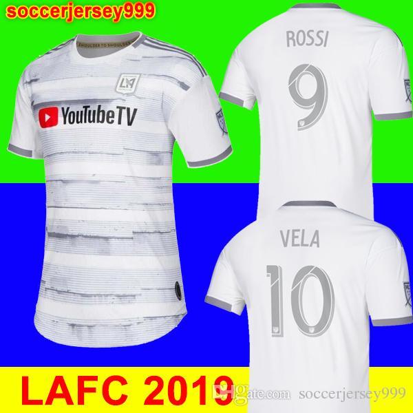 los angeles c7e38 513d8 NEW Arrived 2019 LAFC Carlos Vela Soccer Jerseys 19 20 Home ZELAYA GABER  ROSSI CIMAN ZIMMERMAN Black Parley Primary WHITE Football Shirts