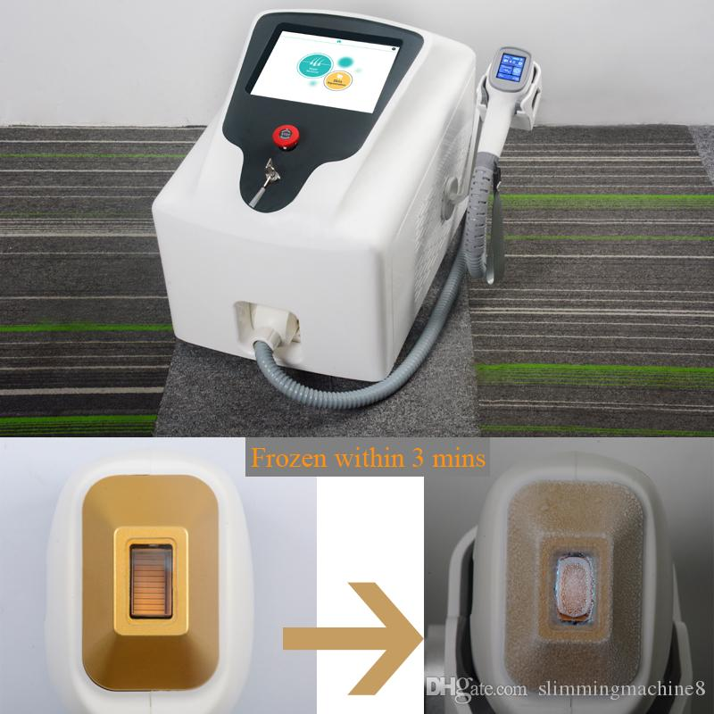 Laser-Haarentfernung Maschine 3000W hohe Eingangsleistungslasermaschine 808 nm Diodenlaser dauerhafte Haarentfernung Maschine