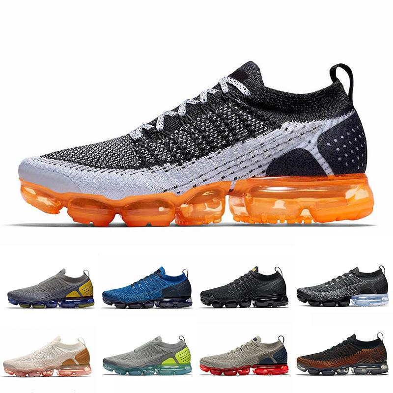 promo code 7612c c6fd6 2019 2019 Air Vampor Max 2.0 Running Shoes For Men Women Sneakers Mens  White Black Trainers Outdoor Sports Running 2 Designer Walking Shoes 36 45  From ...