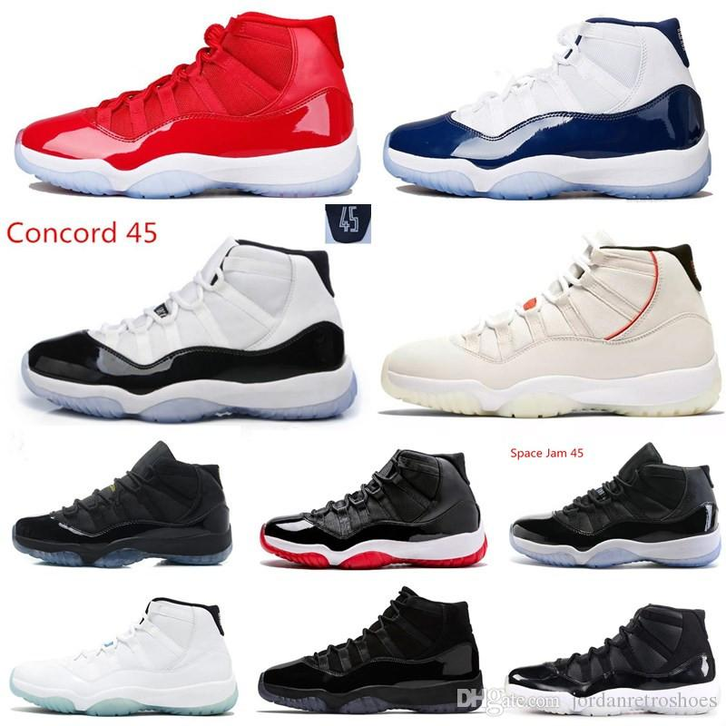 3895c2fc2e4 Platinum Tint 11s Concord Prom Night Basketball Shoes 11 Gym Red Cap ...