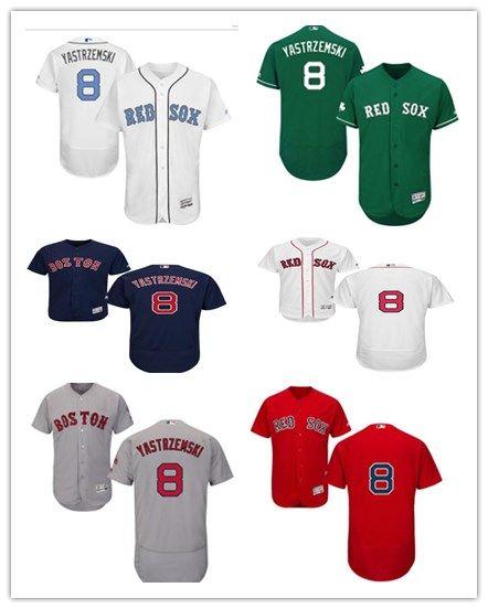 2019 2018 Can Boston Red Sox Jerseys  8 Carl Yastrzemski Jerseys  Men WOMEN YOUTH Men S Baseball Jersey Majestic Stitched Professional  Sportswear From ... f463e1019d4