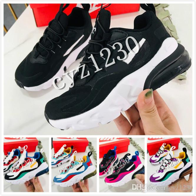 08 2019 New Classic Designer Maxes 27c 2 Generation React Men's and Women's Sneakers Running Shoes kids box