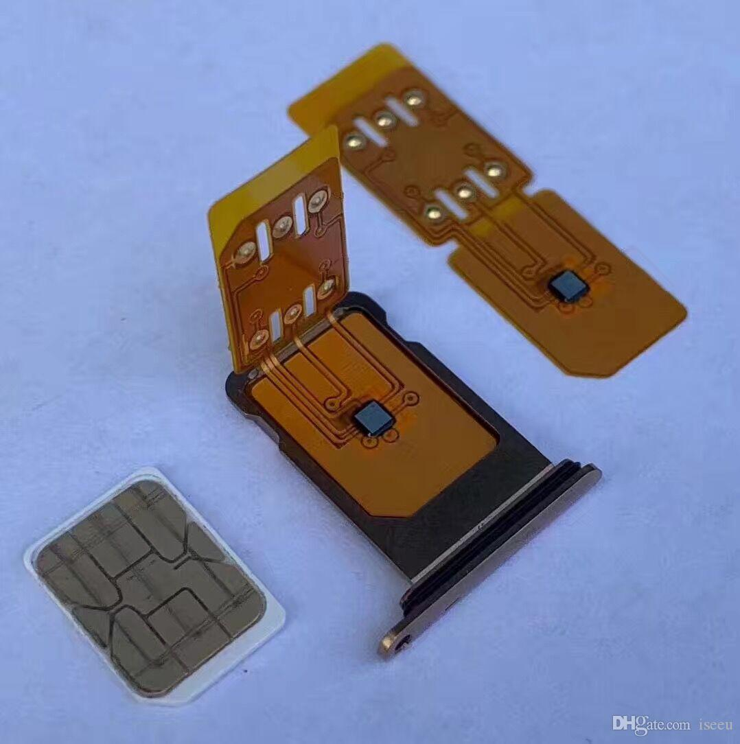 Free DHL shipping Newest Superior sim 4G Unlock Card for iPhone XR and XS Max IOS 12.2 to 12.X GEVEY ONESIM Chip