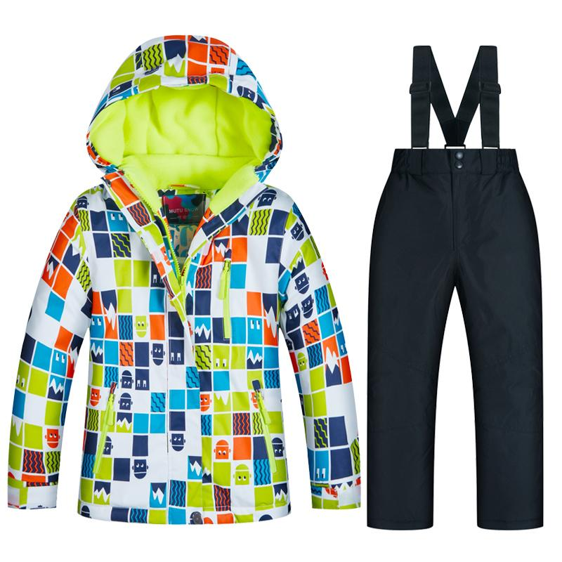 459c68197 2019 Ski Jacket Kids Winter Snow Girls And Boys Clothes Windproof  Waterproof Warm Kids Ski Suit Children Jacket And Pant Brands From  Shinny33, ...