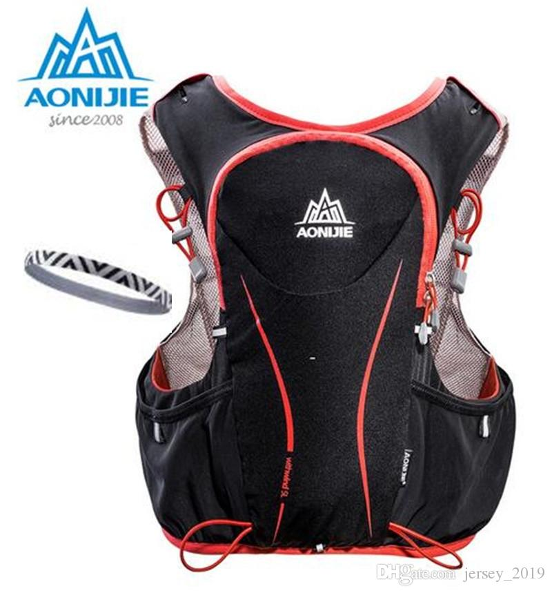 0936793759 2019 AONIJIE 5L Outdoor Running Bag Marathon Hydration Vest Backpack  Lightweight Hiking Cycling Riding Vest Bag Running Marathon Race #109715  From ...