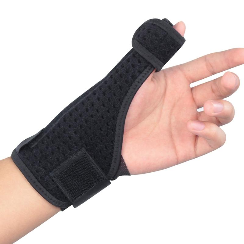 Hot Wrist Support Thumb Cover Left Right Hand Breathable Adjustable Compression Forearm Wrap Belt Strap Protector Gym Sportswear