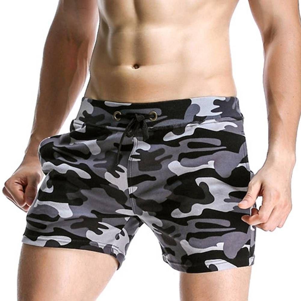 a25940cb92 Sexy Men's Swimwear Swimsuits Man Camouflage Basic Swimming Trunks Beach  Long Board Shorts Camo Boxer Surf Water Sports Men
